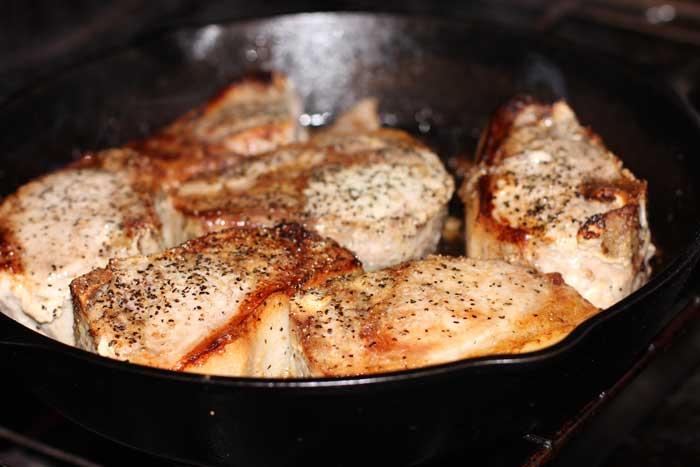 Oven Baked Pork Chops