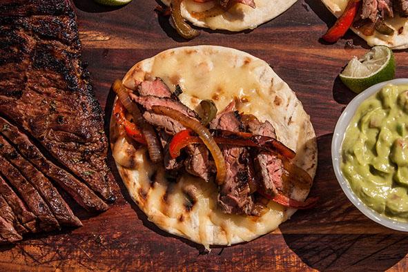 Skirt Steak Fajitas